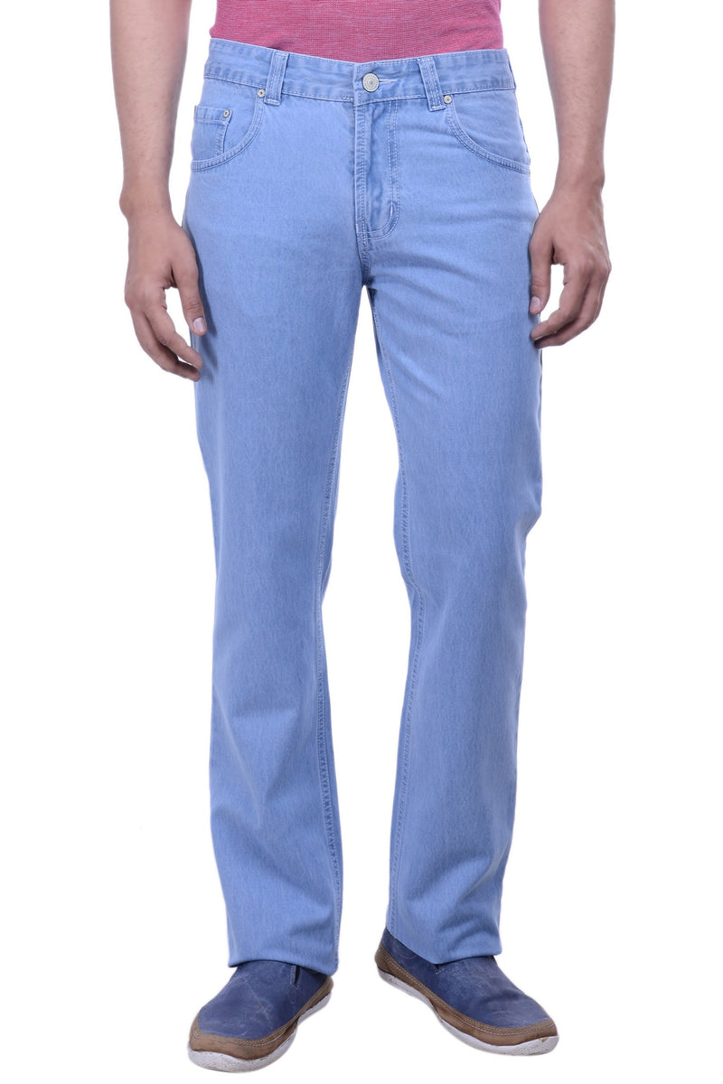 Hoffmen Men's Regular Fit  Cowboy Icewash Silky Jeans SDG2120
