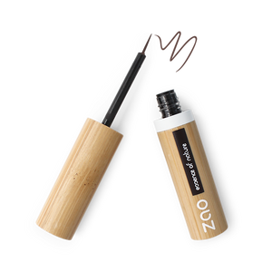 ZAO-Makeup-Liquid-Eye-Liner-Brush-Tip-071-Dark-Brown