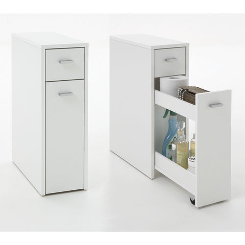 """Denia"" Genius Slimline Bathroom / Kitchen Slide-Out Storage Drawer Unit."