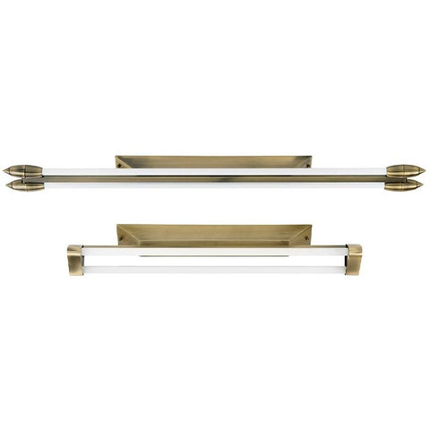 *Clearance* Endon 'Enluce' 1-Metre Fluorescent Twin Tube T5 Ceiling Light Bars.