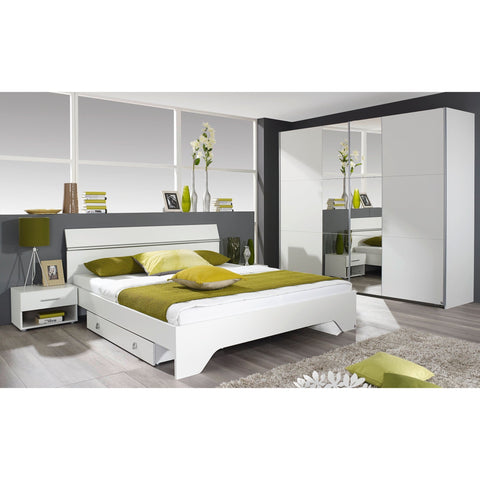 ASSEMBLY INCLUDED Rauch 'Fellbach' German Made Bedroom Furniture. White