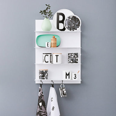 Design Letters Paper Shelf on DLK | designlifekids.com