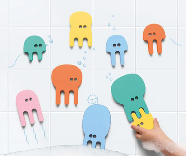 Quut Jellyfish Puzzle Bath Toy on Design Life Kids