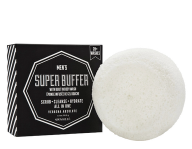 Spongelle Mens Super Buffer on Design Life Kids