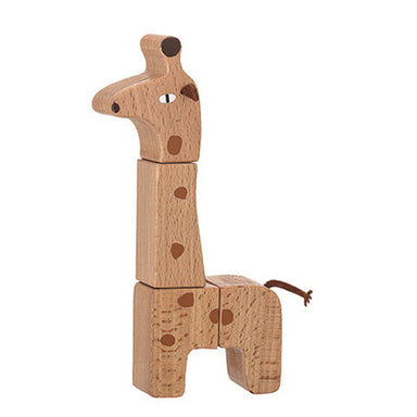 Bloomingville Wooden Giraffe Puzzle on Design Life Kids