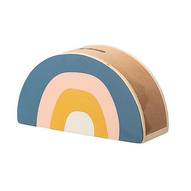 Bloomingville Wooden Rainbow Bank on Design Life Kids