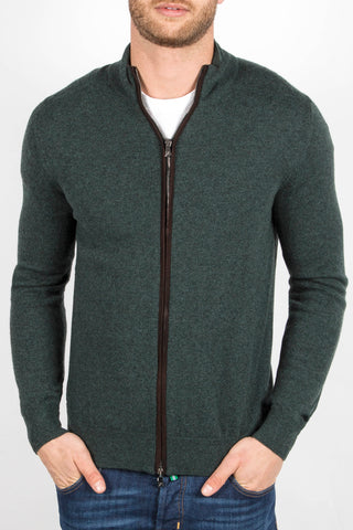 Zip-Up Sweater