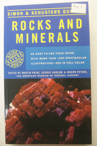 Book:  Rocks and Minerals