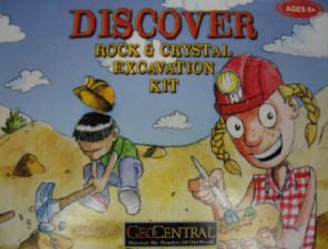 Rock and Crystal Excavation Kit