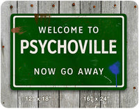 Psychoville Road Sign