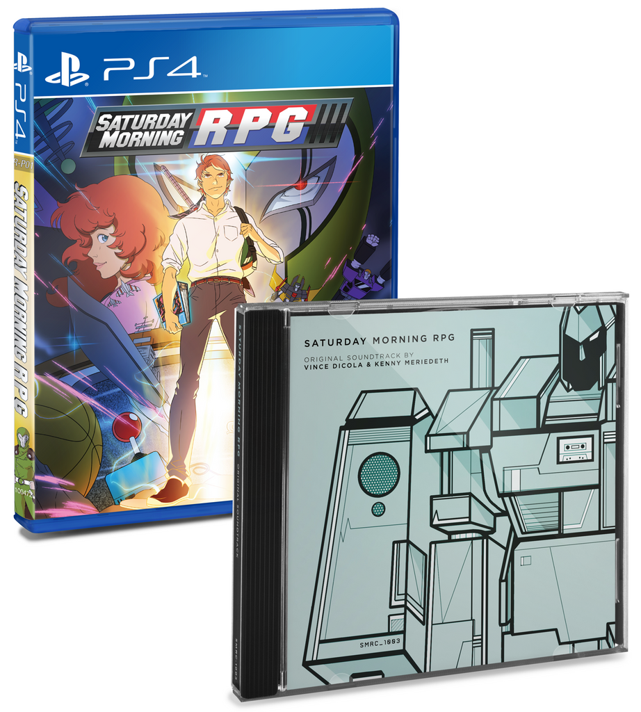 Limited Run #2: Saturday Morning RPG (PS4) Soundtrack Bundle