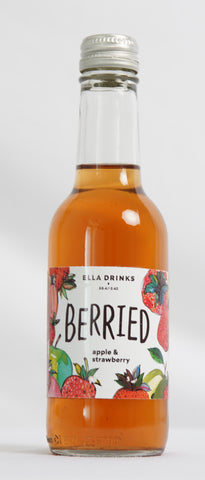 Berried Strawberry 12 x 250ml Berry & Apple Juice Drink