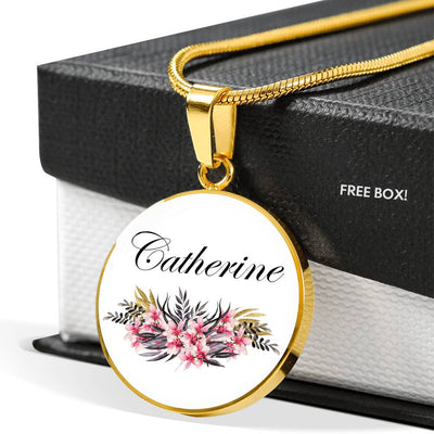Catherine v2 - 18k Gold Finished Luxury Necklace