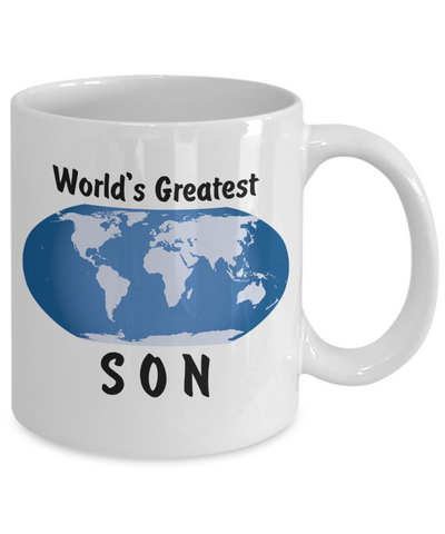 World's Greatest Son - 11oz Mug - Unique Gifts Store