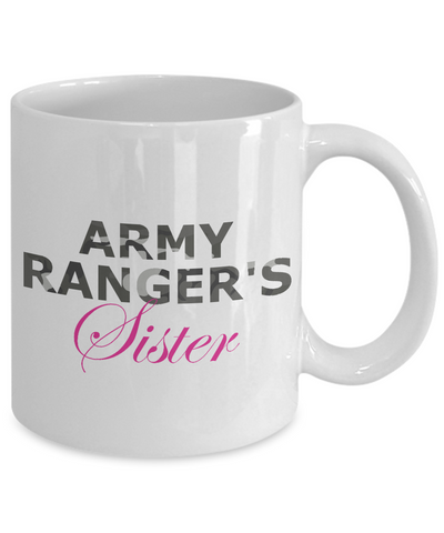 Army Ranger's Sister - 11oz Mug - Unique Gifts Store