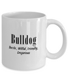 The Bulldog - 11oz Mug - Unique Gifts Store