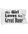 Great Dane - Pillow Case - Unique Gifts Store