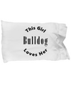 Bulldog v2c - Pillow Case
