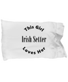 Irish Setter v2c - Pillow Case
