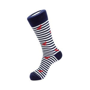 Lobster Stripe Sock