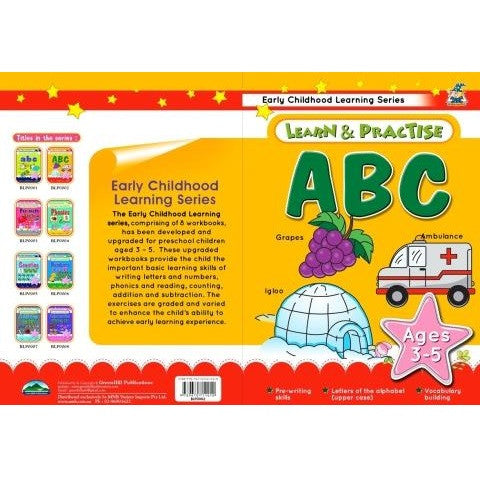 ABC Learn and Practice Childrens Activity Book
