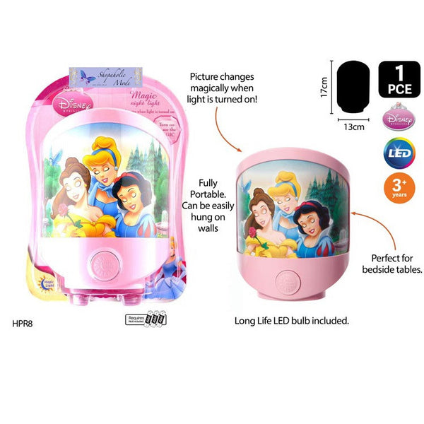 Disney Princesses Battery Operated Magic LED Night Light