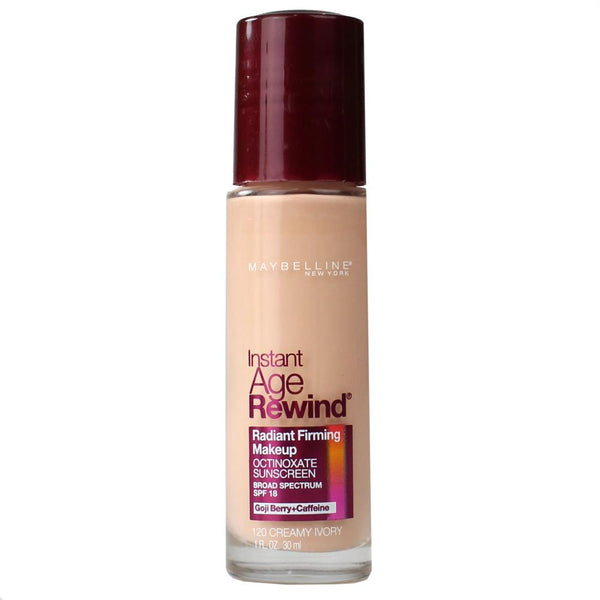 2 x Maybelline Instant Age Rewind Makeup Foundation - 120 Creamy Ivory