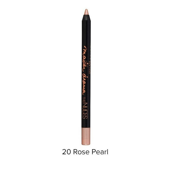 2 x Maybelline Master Drama Nudes Eyeliner - 20 Rose Pearl