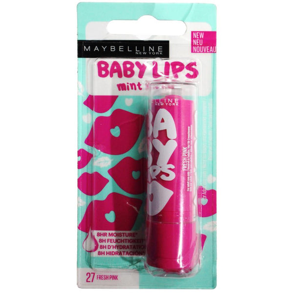 2 x Maybelline Baby Lips Mint to Be Lip Balm