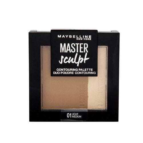2 x Maybelline Master Sculpt Contouring Palette 01 Light Medium