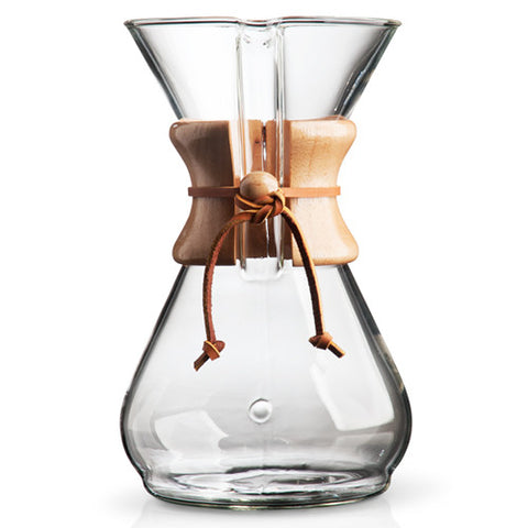 Chemex 8 Cup Classic Coffeemaker - Accessories - Beans 2 Machines