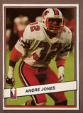 Andre Jones CFL card 1985 Jogo #44 BC Lions  UNLV Rebels