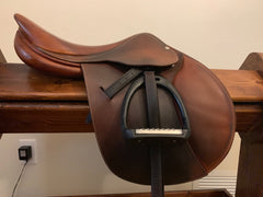 Item #B81C - Butet 16/17 Forward Flap/Regular Length, 2009, with Calfskin Leathers and Royal Rider Irons