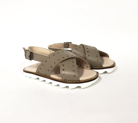 Sonatina Taupe Sandal-Tassel Children Shoes