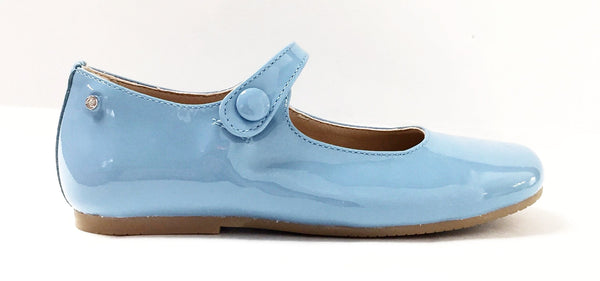 Manuela Baby Blue Mary Jane-Tassel Children Shoes