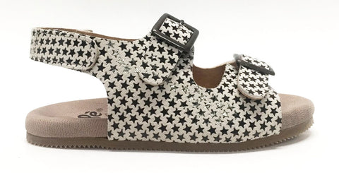 Pepe Star Print Sandal-Tassel Children Shoes