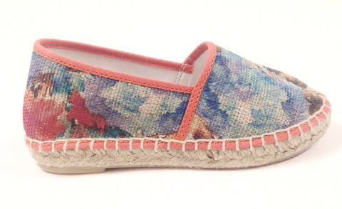 Sonatina Floral Espadrilles-Tassel Children Shoes