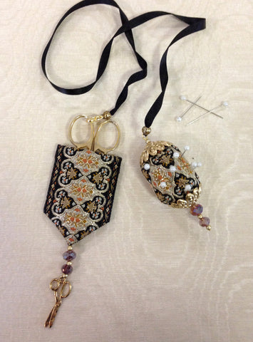 Alahambra- a scissor and pin chatelaine