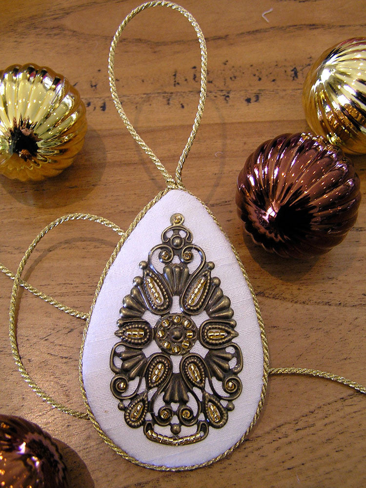 Filigree Teardrop