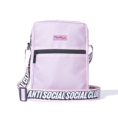 ANTI SOCIAL SOCIAL CLUB - SHOULDER BAG (PINK)