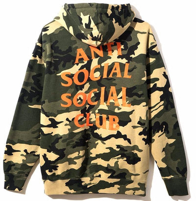 ANTI SOCIAL SOCIAL CLUB - SIXTH ST. HOODED SWEATSHIRT
