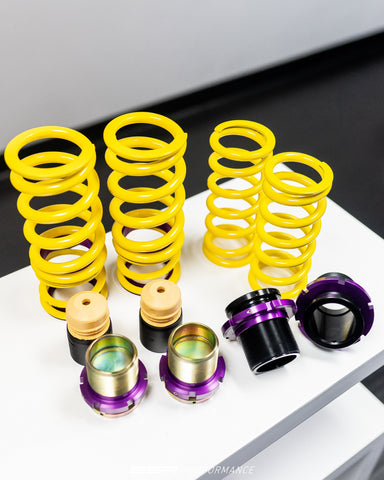 KW HEIGHT ADJUSTABLE SPRING SUSPENSION FOR PORSCHE 911 (TYPE 991) TURBO, TURBO S, WITH PDCC - SSR Performance