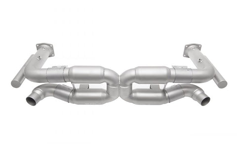 SOUL Porsche 996 GT2 Competition X-Pipe Exhaust System - SSR Performance