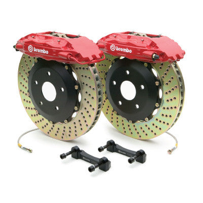 "Brembo GT 15""  4 Piston Drilled Rear Big Brake Kit BMW M5  (F10) - SSR Performance"