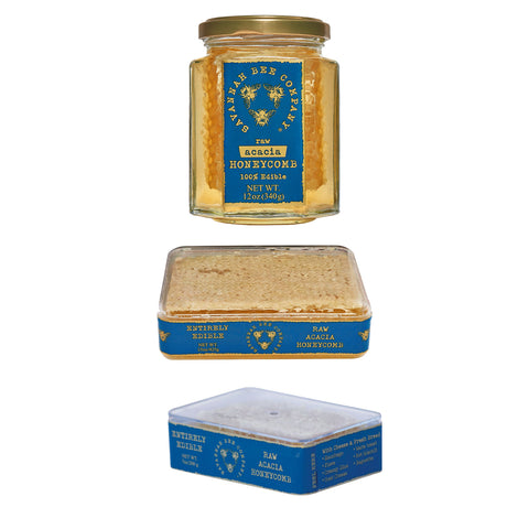 Kosher Savannah Bee Acacia Honeycomb