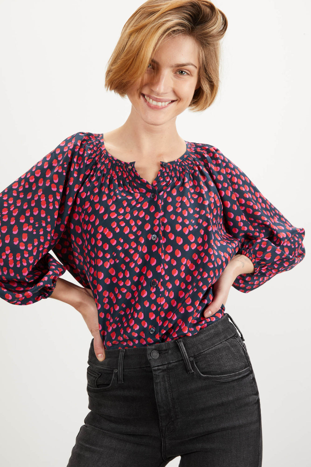 The Classic Blouse | Pop Dot