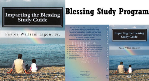 Blessing Study (Designed for Group Studies) - 1 Book & 4 DVDs