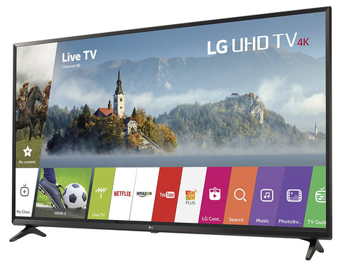"LG 55UJ6300 55"" 4K UHD Smart LED Television (2017)"