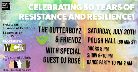 The GutterBoyz & Friendz Drag Show and Dance - July 20