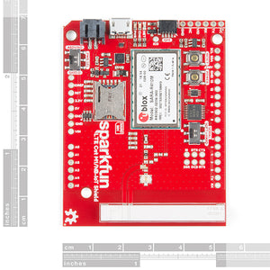 SparkFun LTE CAT M1/NB-IoT Shield - SARA-R4 (with Hologram SIM Card)